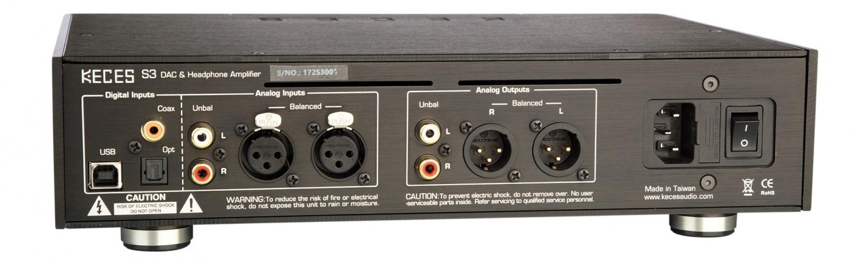 Kopfhörerverstärker Keces S3 im Test, Bild 2