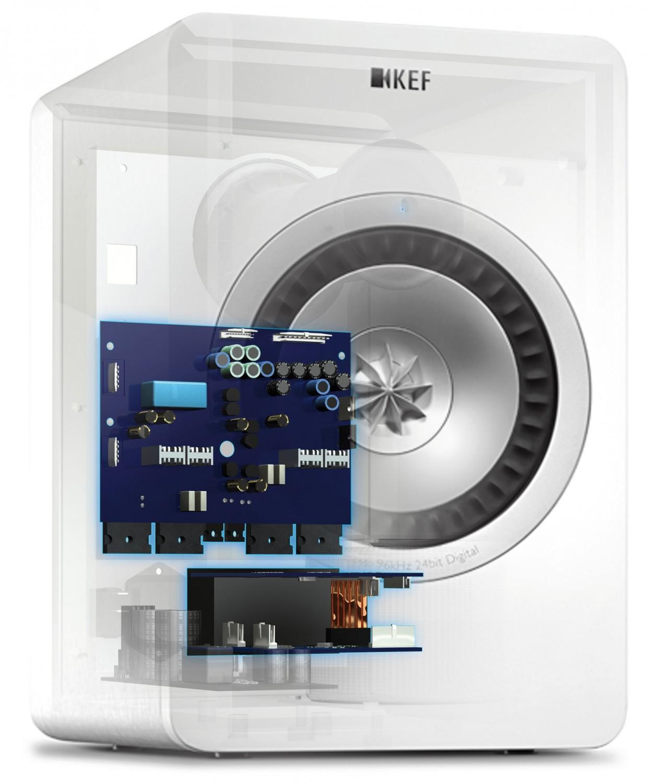 Aktivlautsprecher KEF X300A Wireless im Test, Bild 4