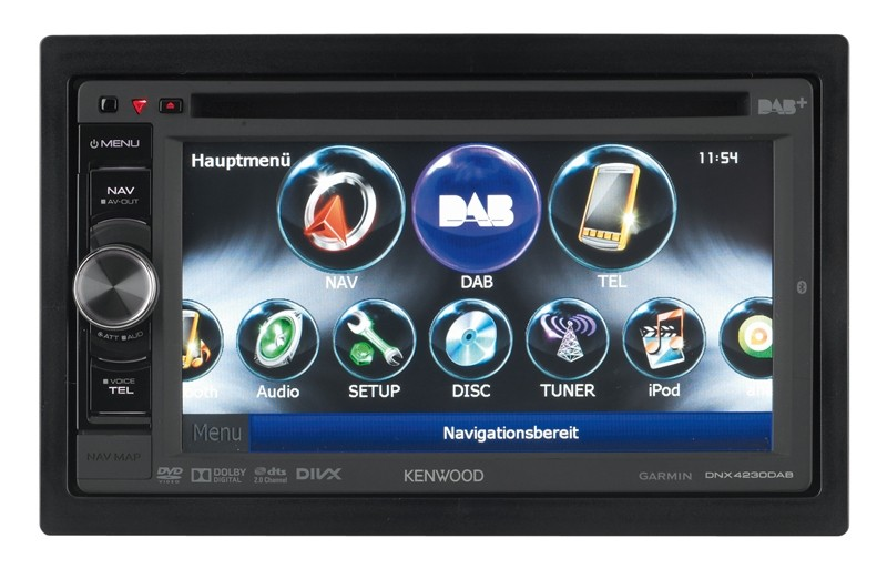 Naviceiver Kenwood DNX4230DAB im Test, Bild 1