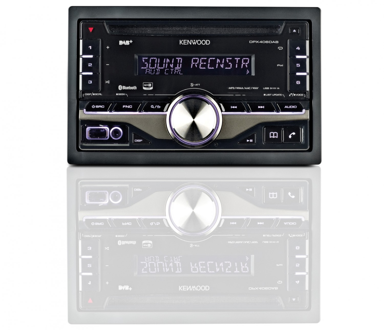 2-DIN-Autoradios Kenwood DPX406DAB im Test, Bild 1