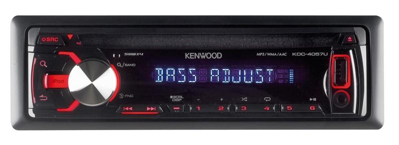 1-DIN-Autoradios Kenwood KDC-4057U im Test, Bild 1