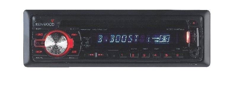 1-DIN-Autoradios Kenwood KDC-W4044UA im Test, Bild 1