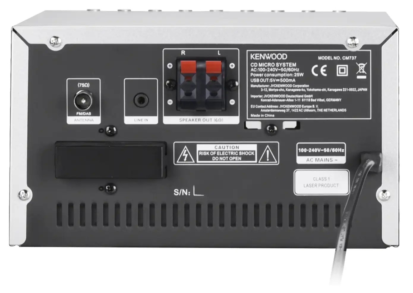 Micro-Anlagen Kenwood M-7000S-B im Test, Bild 7