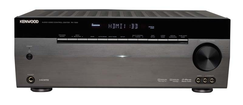 test av receiver kenwood rv 7000 sehr gut. Black Bedroom Furniture Sets. Home Design Ideas