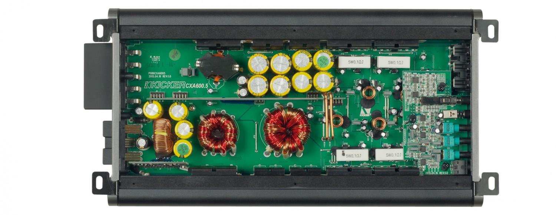 Car HiFi Endstufe Multikanal Kicker CXA6005 im Test, Bild 27