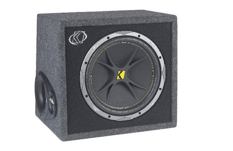 test car hifi subwoofer geh use kicker vc 124 sehr gut. Black Bedroom Furniture Sets. Home Design Ideas