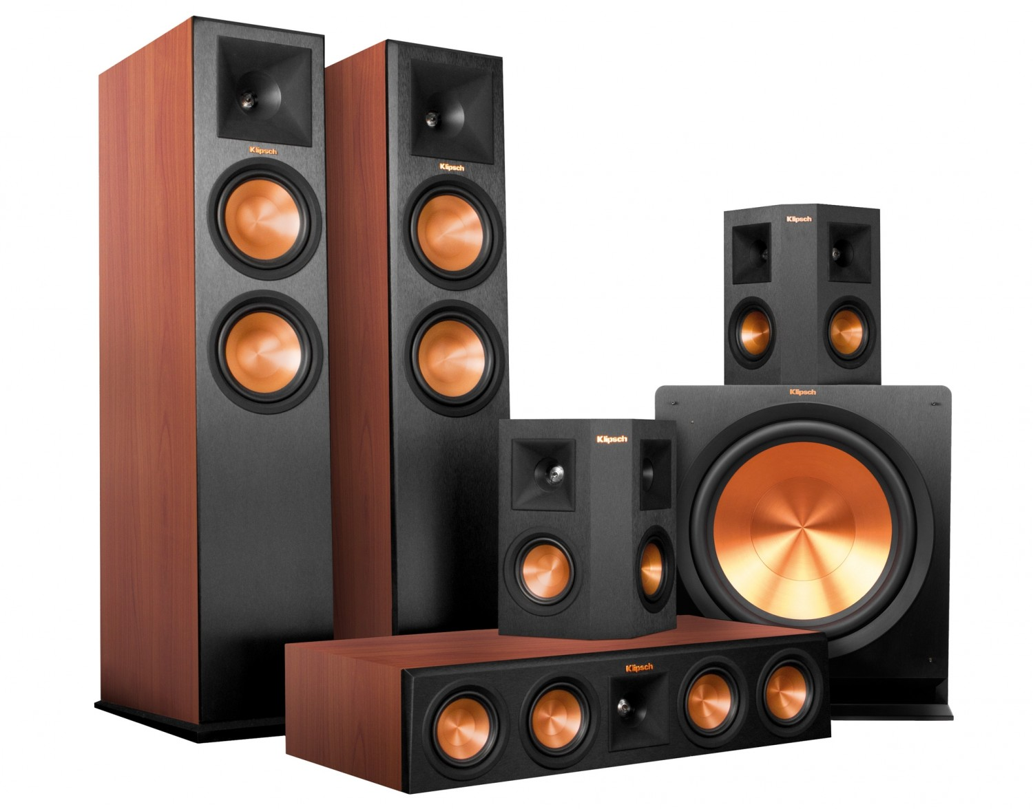 test lautsprecher surround klipsch reference premiere. Black Bedroom Furniture Sets. Home Design Ideas