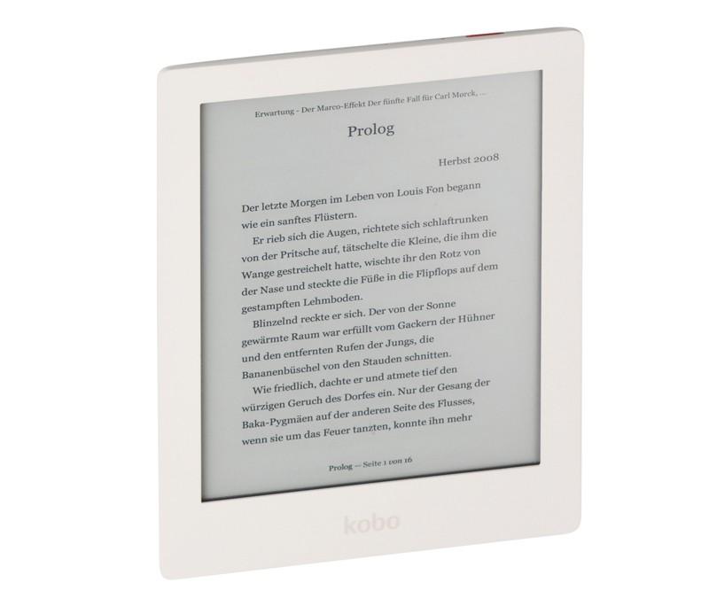 E-Book Reader kobo Aura HD im Test, Bild 1