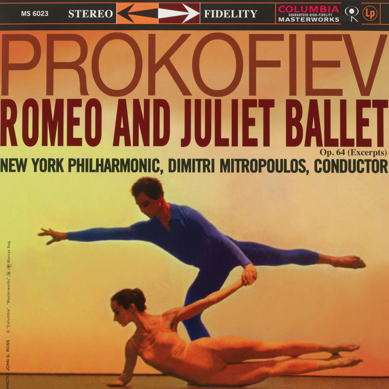 Schallplatte Komponist: Sergej Prokofjew / Interpret: New York Philharmonic Orchestra / Dirigent: Dimnitri Mitropoulos - Romeo und Julia (Auszüge) (Columbia) im Test, Bild 1
