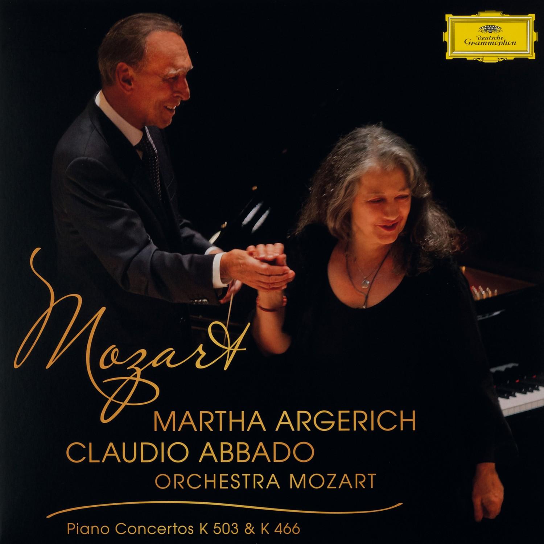 Schallplatte Komponist: Wolfgang Amadeus Mozart / Interpreten: Martha Argerich, Orchestra Mozart, Claudio Abbado - Piano Concertos K 503 & K 466 (Deutsche Grammophon) im Test, Bild 1