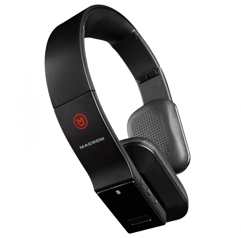 Kopfhörer Hifi Macrom M-HPB30 (B/W) im Test, Bild 1