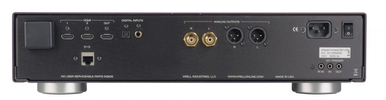 D/A-Wandler Krell Vanguard Universal DAC im Test, Bild 11