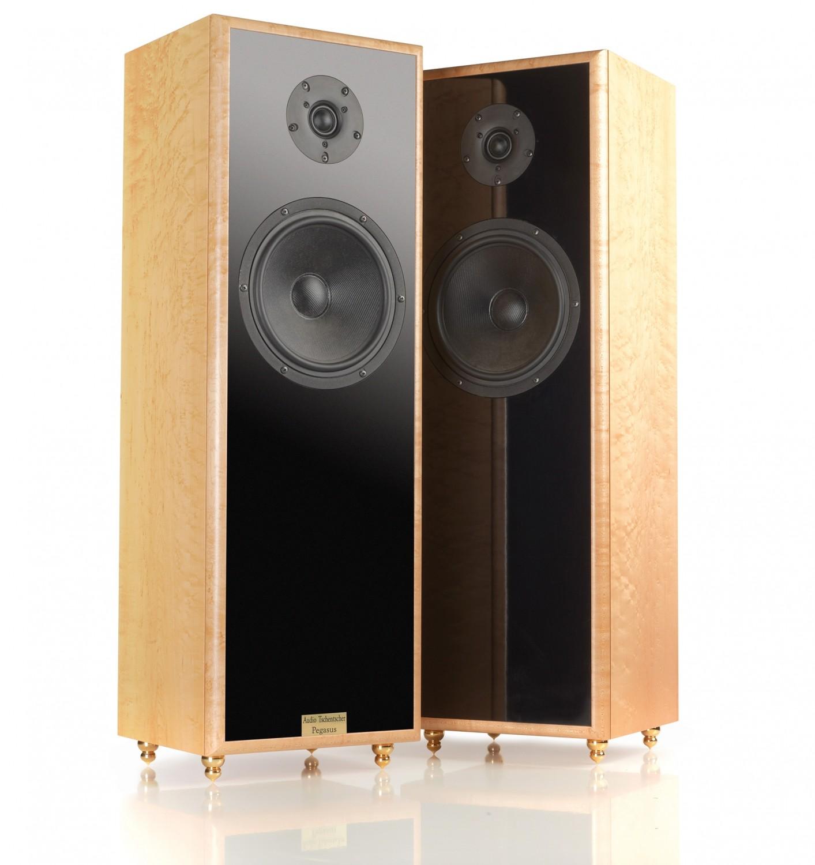 test lautsprecher stereo audio tschentscher pegasus. Black Bedroom Furniture Sets. Home Design Ideas