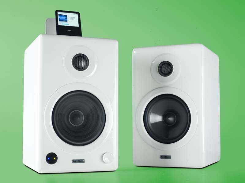 test lautsprecher stereo epoz aktimate mini seite 1. Black Bedroom Furniture Sets. Home Design Ideas