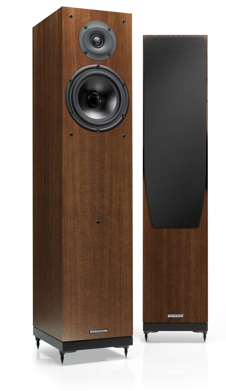 test lautsprecher stereo spendor a6r sehr gut seite 1. Black Bedroom Furniture Sets. Home Design Ideas