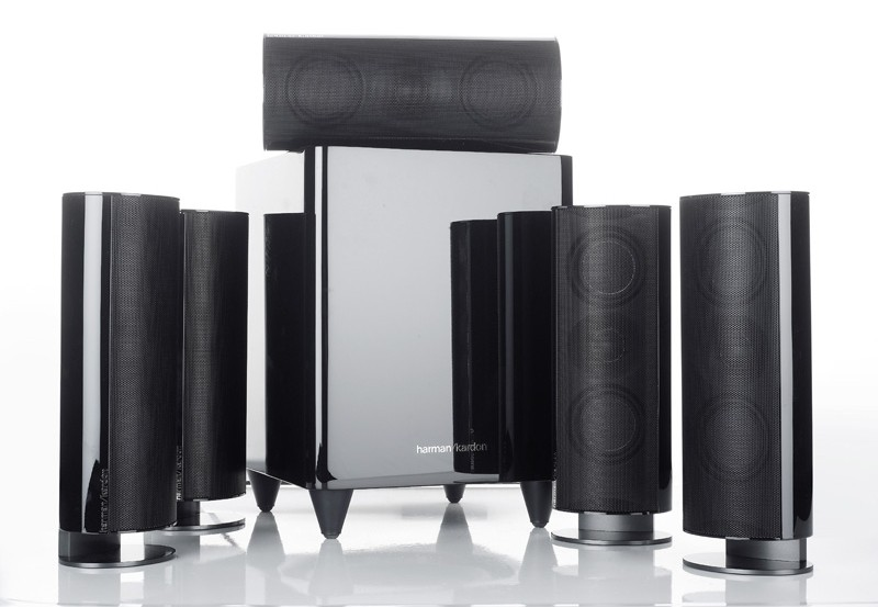 test lautsprecher surround harman kardon hkts60bq sehr. Black Bedroom Furniture Sets. Home Design Ideas