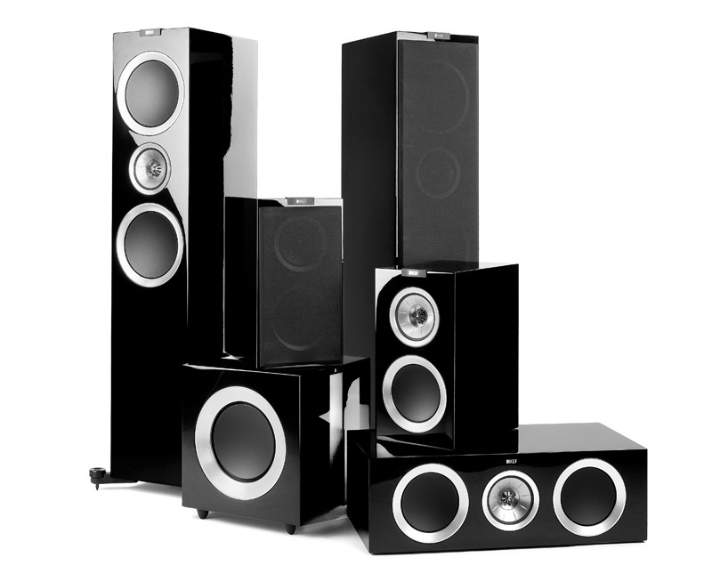test lautsprecher surround kef r900 serie 5 1 sehr. Black Bedroom Furniture Sets. Home Design Ideas