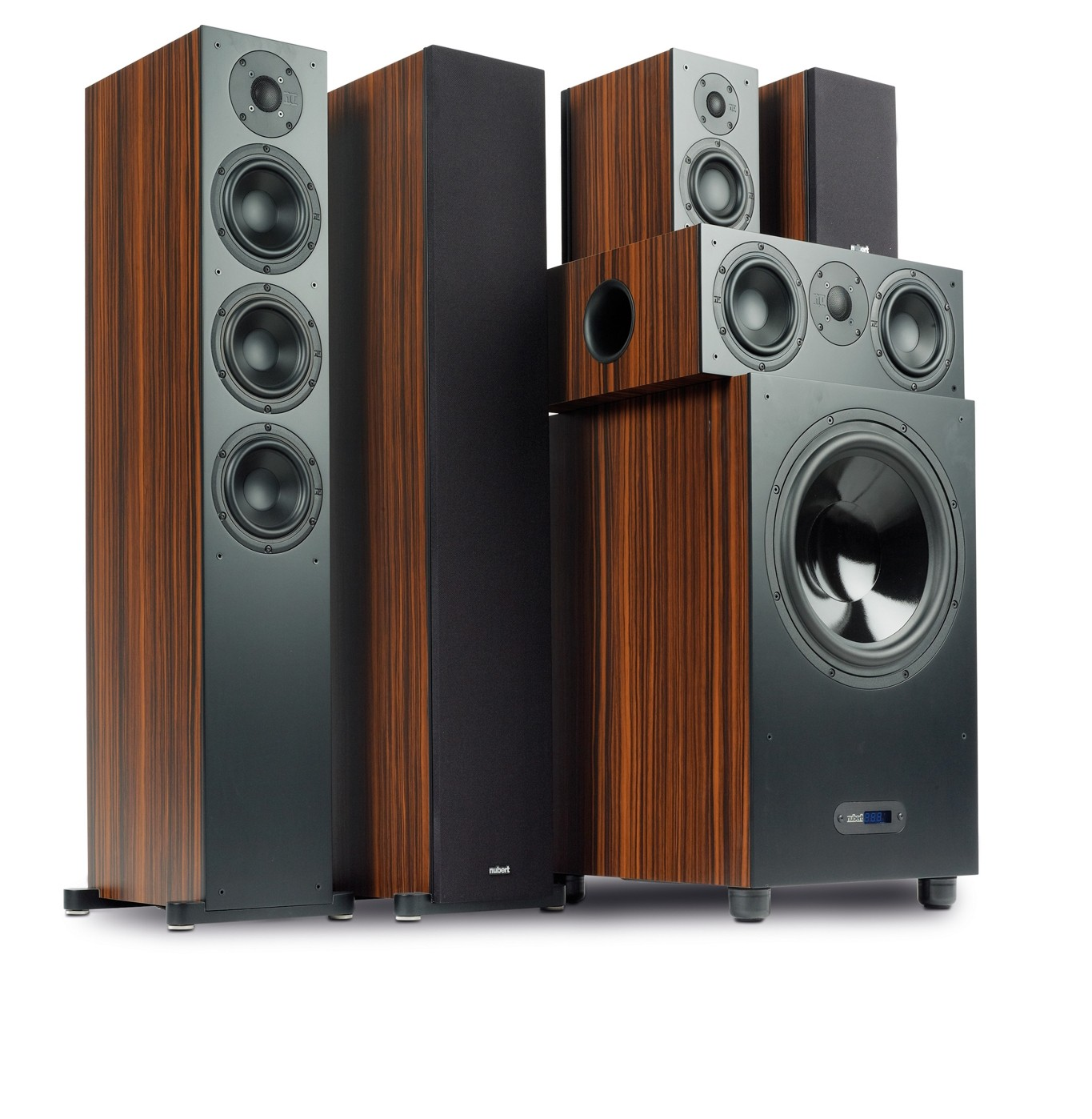 test lautsprecher surround nubert 5 1 nubox set 513. Black Bedroom Furniture Sets. Home Design Ideas