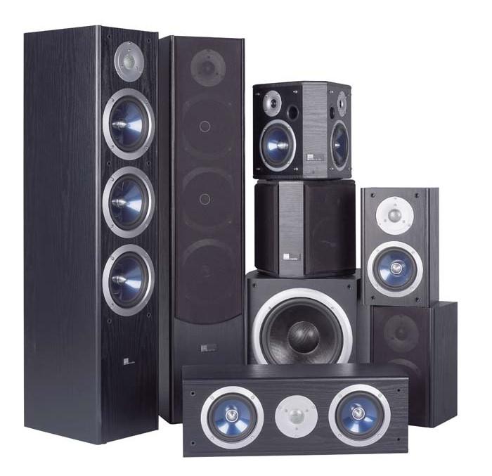 test lautsprecher surround pure acoustics xti serie 7 1 sehr gut seite 1. Black Bedroom Furniture Sets. Home Design Ideas