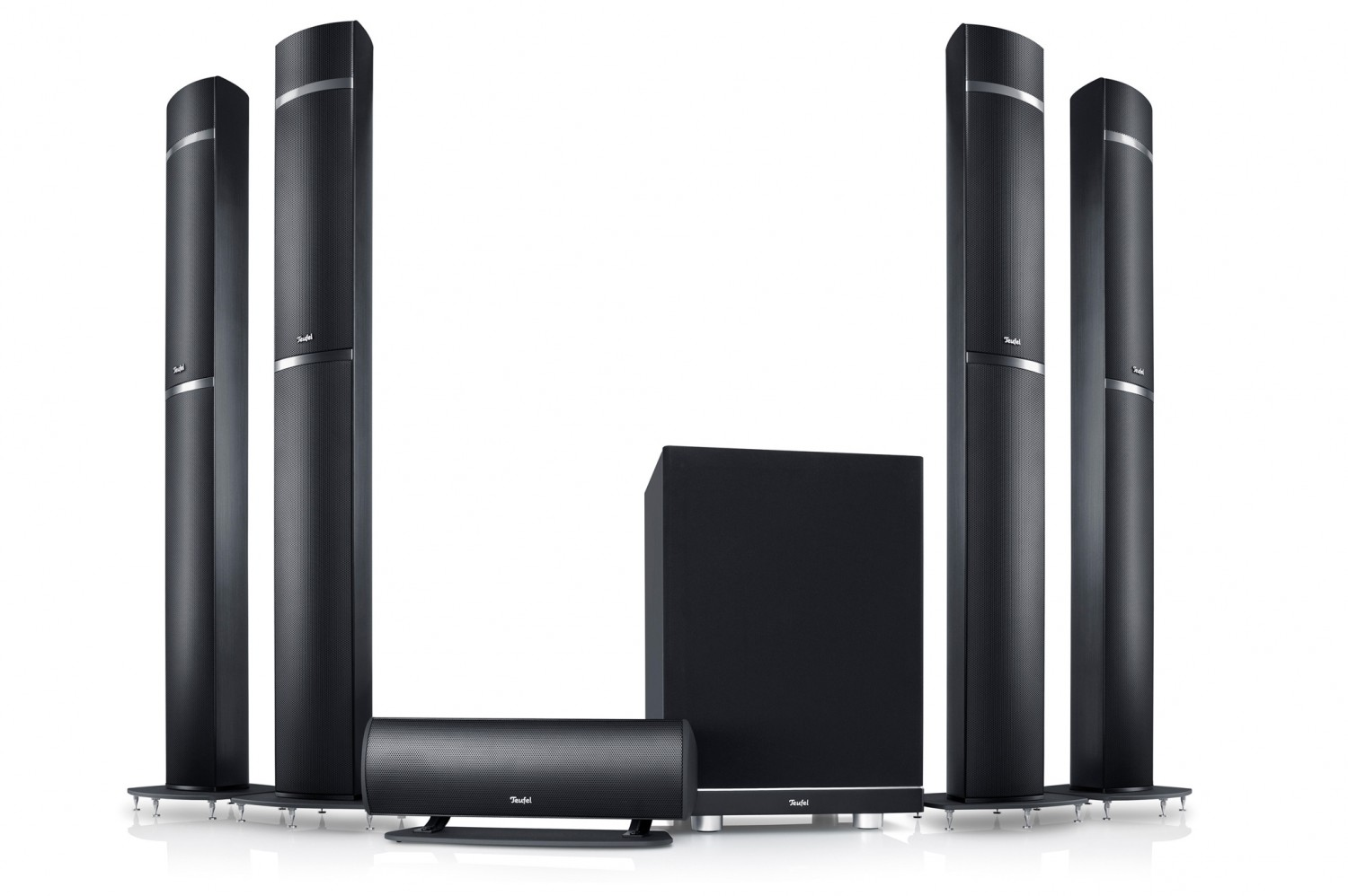 test lautsprecher surround teufel lt5 5 4 1 atmos set. Black Bedroom Furniture Sets. Home Design Ideas