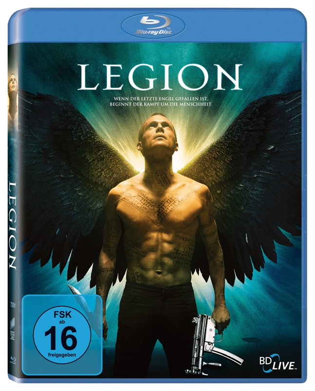 Blu-ray Film Legion (Sony Pictures) im Test, Bild 1