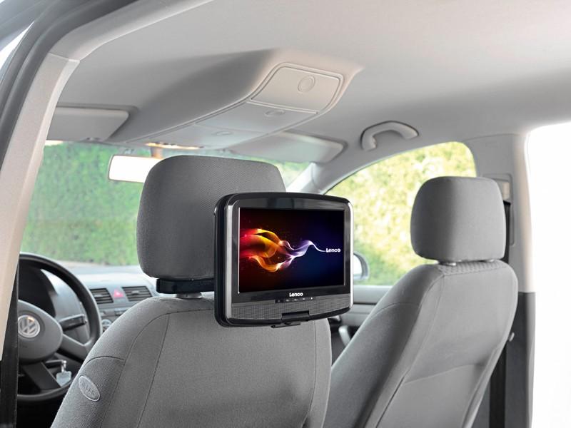 DVD-Monitor-Sets Lenco DVP-937 im Test, Bild 2
