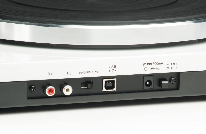 Plattenspieler USB Lenco L-87WH im Test, Bild 4