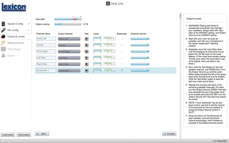 AV-Receiver Lexicon RV-9 im Test, Bild 4