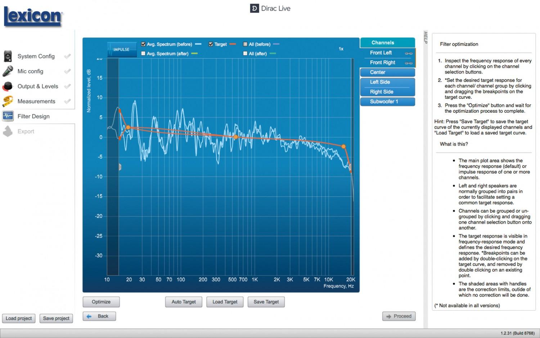 AV-Receiver Lexicon RV-9 im Test, Bild 8