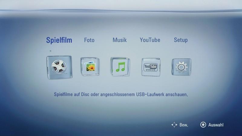 Blu-ray-Player LG BD560 im Test, Bild 4