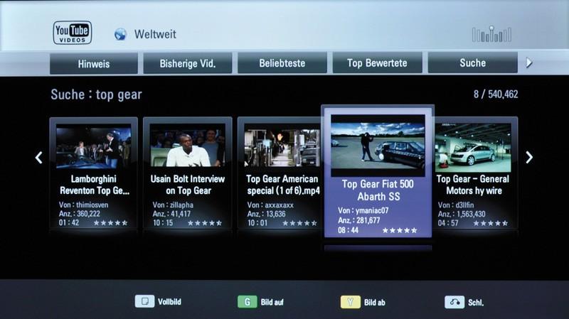 Blu-ray-Player LG BD560 im Test, Bild 5