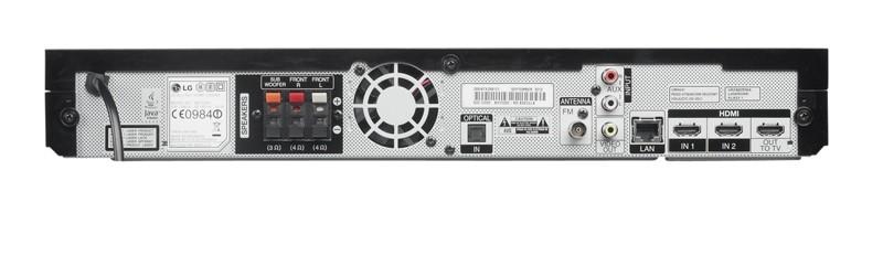 Blu-ray-Anlagen LG BH7220C im Test, Bild 2