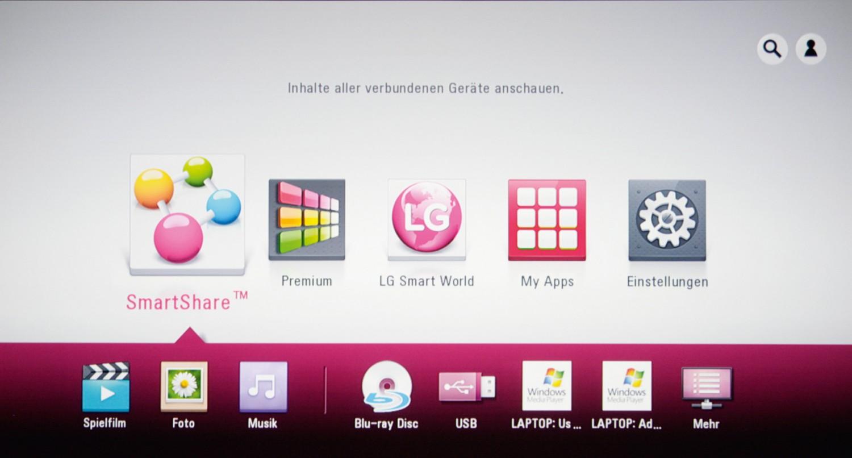 Blu-ray-Player LG BP430 im Test, Bild 2