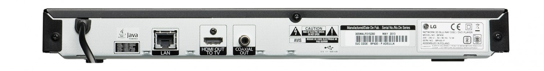 Blu-ray-Player LG BP430 im Test, Bild 4