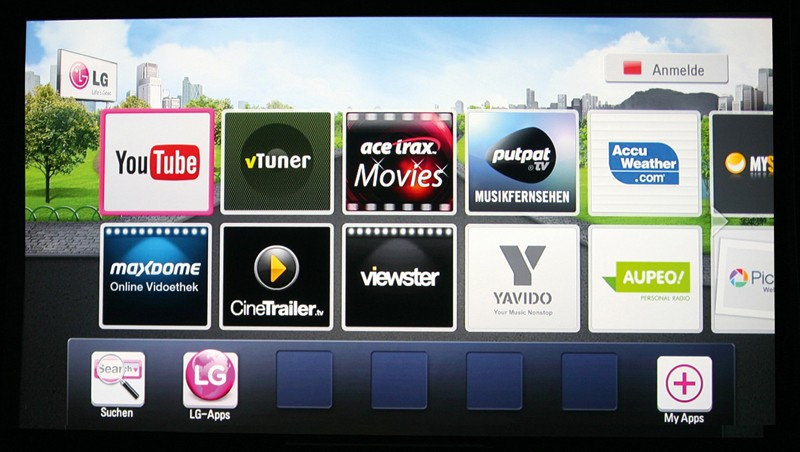 Blu-ray-Player LG BP620 im Test, Bild 2