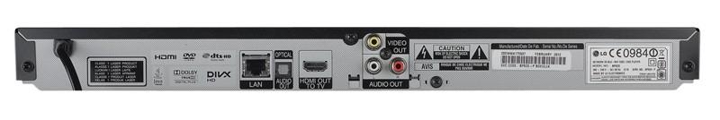 Blu-ray-Player LG BP620 im Test, Bild 3