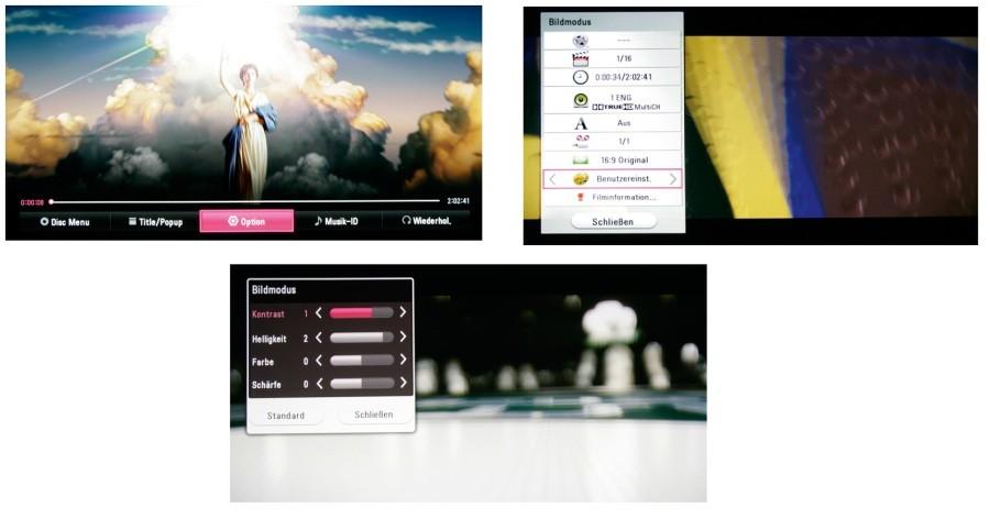 Blu-ray-Player LG BP630 im Test, Bild 4