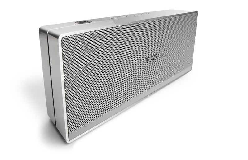test airplay speakersystem loewe speaker 2go sehr gut. Black Bedroom Furniture Sets. Home Design Ideas