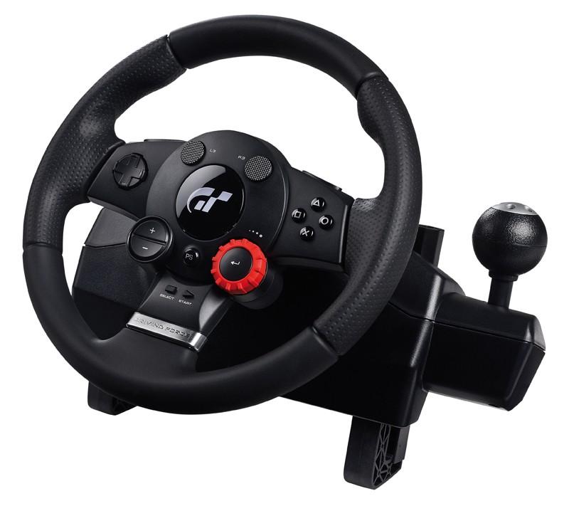 PC Logitech Driving Force GT im Test, Bild 1