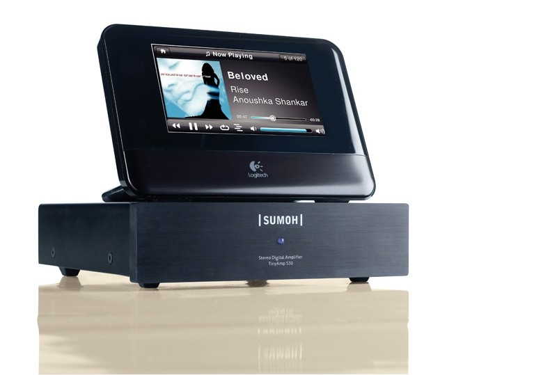 Streaming Client Logitech Squeezebox Touch, Sumoh TinyAmp S30 im Test , Bild 1