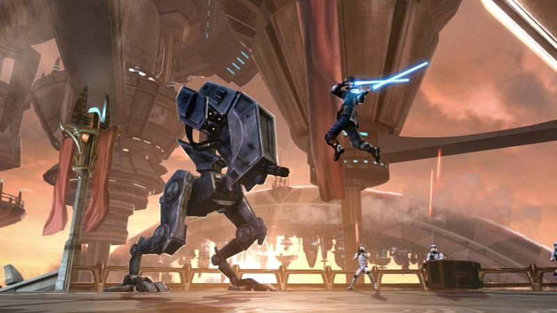 Games Playstation 3 Lucas Arts Star Wars: The Force Unleashed II im Test, Bild 3