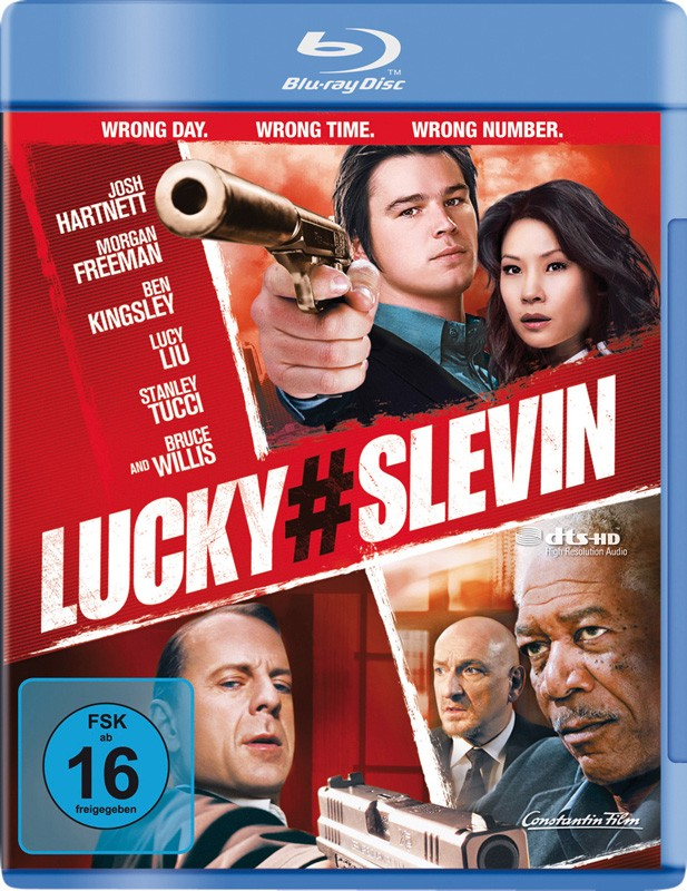 Blu-ray Film Lucky # Slevin (Highlight) im Test, Bild 1
