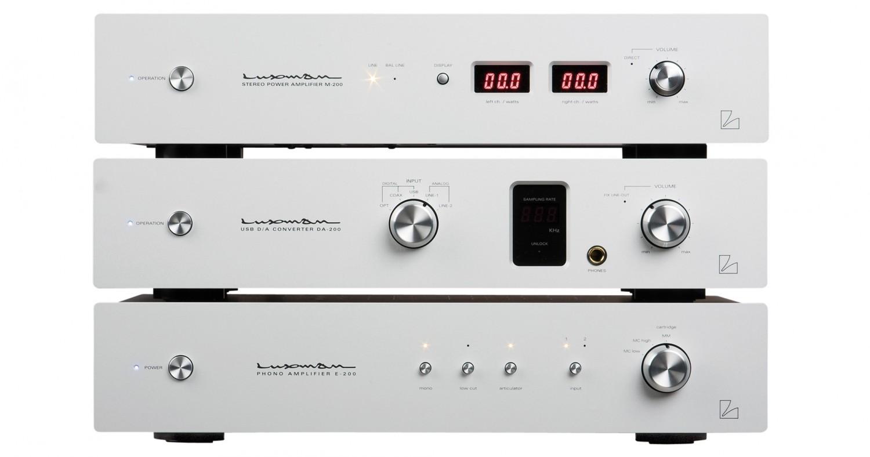 Phono Vorstufen Luxman E-200, Luxman DA-200, Luxman M-200 im Test , Bild 2