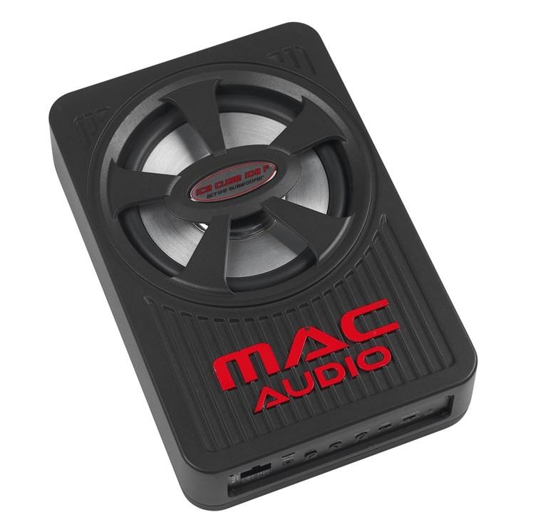 test car hifi subwoofer aktiv mac audio ice cube 108f. Black Bedroom Furniture Sets. Home Design Ideas