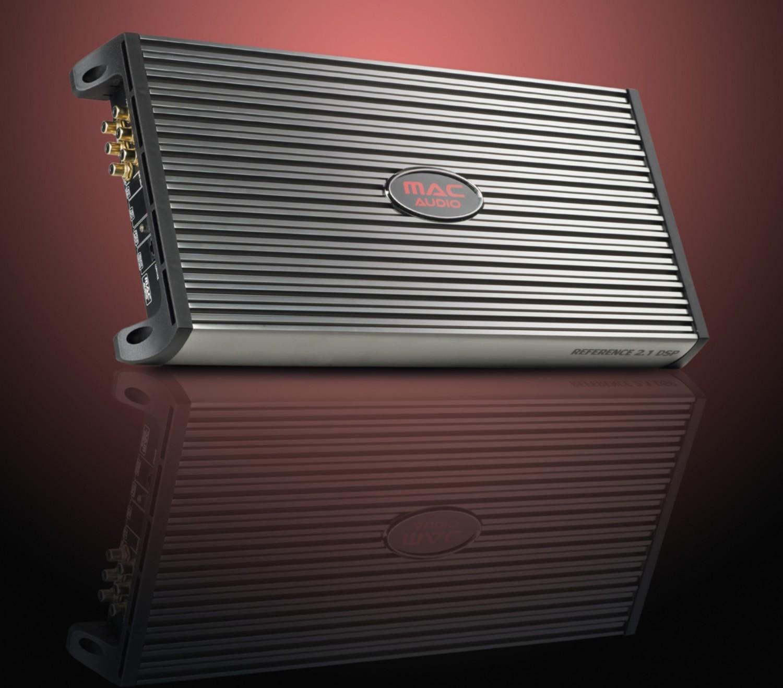 Car-HiFi Endstufe 2-Kanal Mac Audio Reference 2.1 DSP im Test, Bild 1