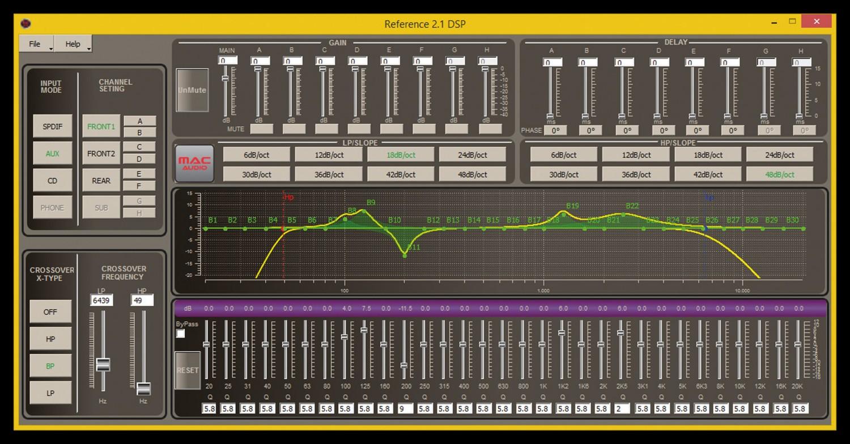 Car-HiFi Endstufe 2-Kanal Mac Audio Reference 2.1 DSP im Test, Bild 6