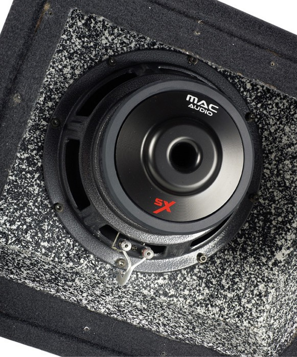 Car-Hifi Subwoofer Gehäuse Mac Audio SX 108BP im Test, Bild 3