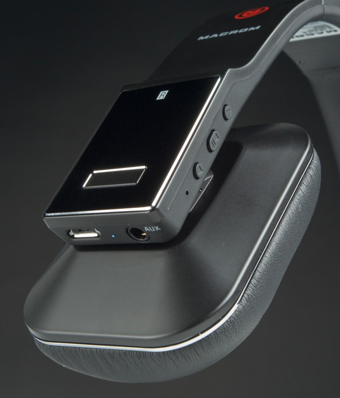 Kopfhörer Hifi Macrom M-HPB30 (B/W) im Test, Bild 2