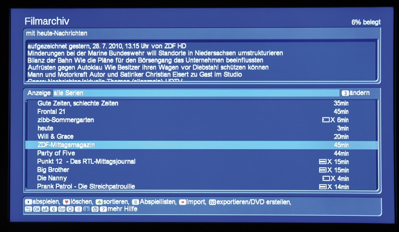 Mediacenter Macrosystem DVC3000 im Test, Bild 7