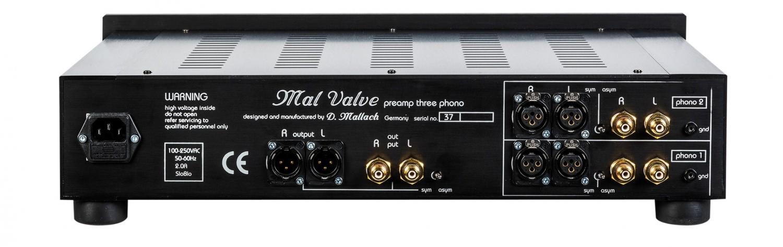 Phono Vorstufen MalValve preamp three phono im Test, Bild 6